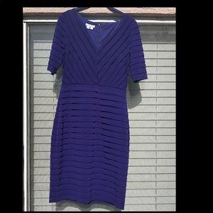 Size 8 London Times Purple Dress